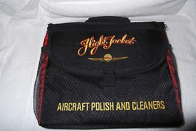 Shell Flight Jacket Aircraft Polish And Cleaners  New!