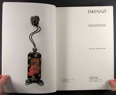 Japanese Antique Lacquer & Inro - Private Swedish Collection at Eskenazi Gallery