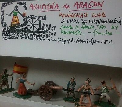 REAMSA Napoleonic wars -  Agustina and her Cannon - 60' made in Spain.