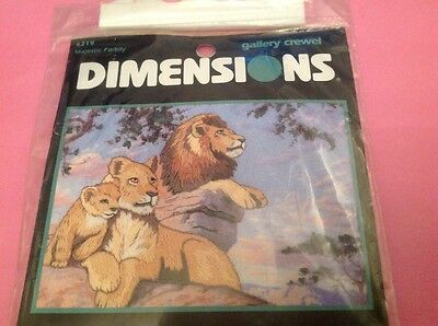 New Dimensions - Lions Majestic Family - Freestyle Embroidery