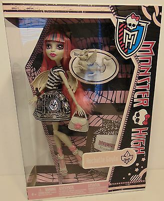 2011 Monster High Rochelle Goyle Doll with Pet Roux First Wave 1st Retired