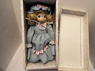 "Vtg. Precious Moments LTD Doll  ""You Have Touched So Many Hearts ""-  1990   13 """