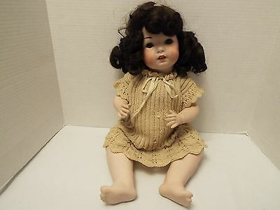 """Vtg Simon & Halbig 121 # 50 German Bisque 19 """" Doll With Clothes"""