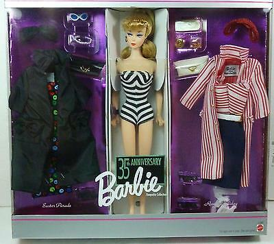 Barbie 35th Anniversary Roman Holiday Easter Parade Gift Set Reproduction NRFB