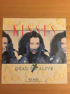 """Dead Or Alive I'll Save You All My Kisses Remix 12"""" Burnsq3 Pete Burns"""