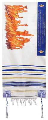 "Prayer Shawl-Flame Of Pentecost (72"" x 22"")"