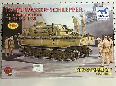 BRONCO, LAND-WASER-SCHLEPPER (Late Production), Scale 1:35, Tank Kit, CB-35020