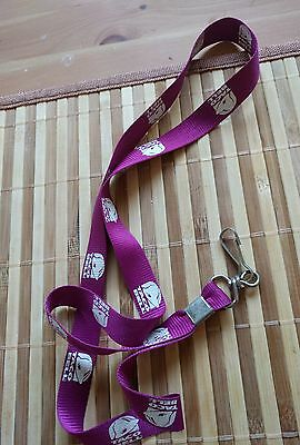 Purple and White Taco Bell Lanyard