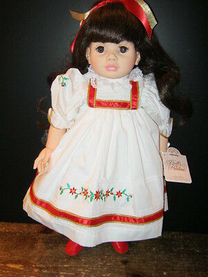 Dolls By Pauline Limited Edition Vinyl Carol-  New in Box- Last in Inventory