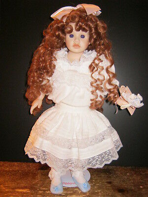 Dolls By Pauline Limited Edition Porcelain Doll Georgianna - New in Box-Last one