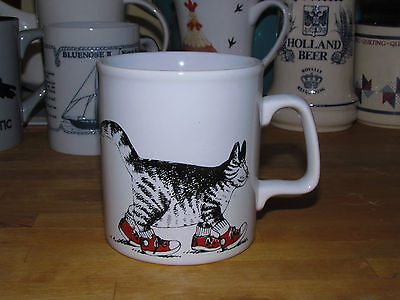 KLIBAN CAT in Sneakers / Running Shoes Coffee Mug Cup Kiln Craft
