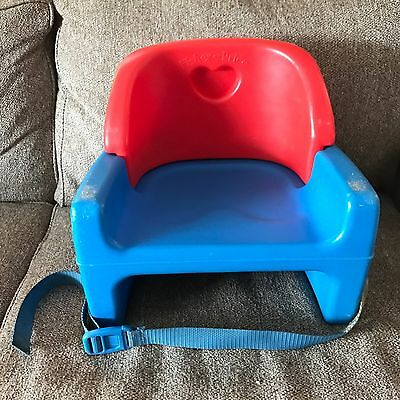 Vintage Fisher Price Grow With Me Booster Seat Kids Child Size 1990 9918