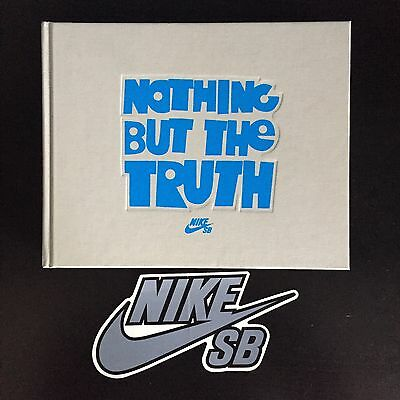 Nike SB Nothing But The Truth Book & DVD Skateboarding