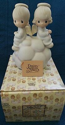 Precious Moments~BUT LOVE GOES ON FOREVER DEALERS Collector Center rarest #7350