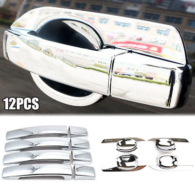 Fit For 2006 - 16 Land Rover Freelander 2 Chrome Door Handle Cover Trim Garnish