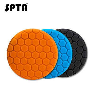 3Pcs 3/4/5/6/7 Inch Buffing Sponge Polishing Pad Kit Set For Car Polisher Buffer