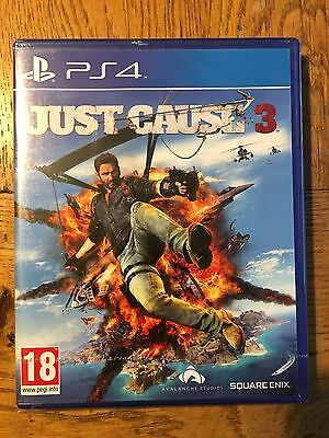 Just Cause 3 - PS4 Sony Factory Sealed!