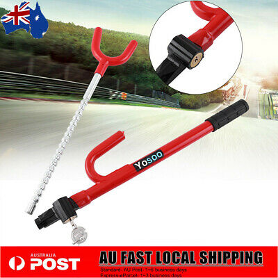 NEW Anti-Theft Steering Wheel Lock Security Device For Vehicle Car Truck BBY AU