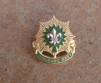 Vintage French Boy Scouts Badge Toujours Pret