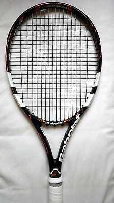 Raquette BABOLAT PURE DRIVE PLAY GT Grip 3 US 4 3/8 Connectée Racket Strung
