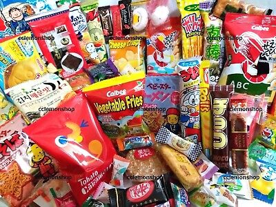 55 pcs + Tracking No.^^ Random Global JAPANESE KOREAN Snack Set Candy chocolate