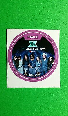 """The X Factor Finale Finalists Fifth Harmony  Tv Getglue Get Glue Sm 1.5"""" Sticker"""