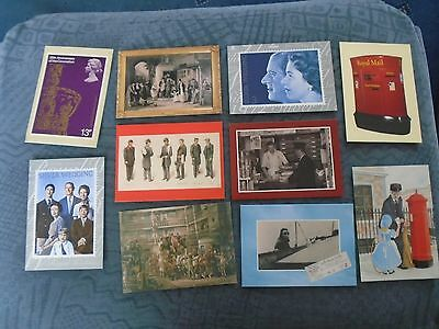 collection of mixed post office postcards (f2)