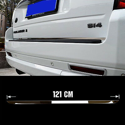 Fit For 2007-2015 Freelander 2 Chrome Rear Trunk Tail Gate Door Cover Trim