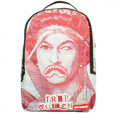 Sprayground Trap Queen Unisex Bags Red White