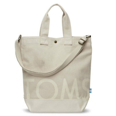 Toms Compass Tote Unisex Bags Natural