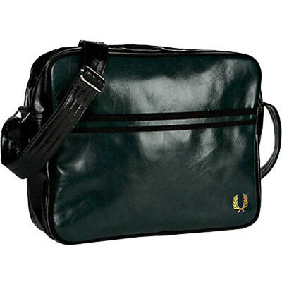 Fred Perry Classic Unisex Bags Green Black