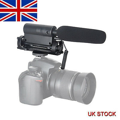TAKSTAR SGC-598 Photography Interview Microphone Live Recording for Canon Nikon