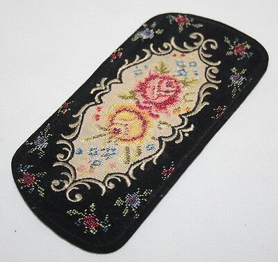Embroidery Petit Point Glasses/Spectacles Case - VGC