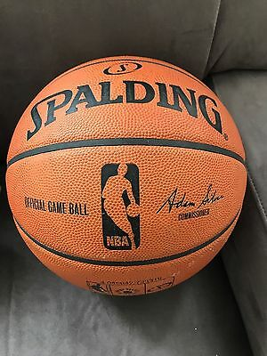 Spalding Official NBA indoor basketball size 7 100% Genuine RRP £200