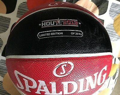 Spalding Official NBA ball for Houston All Star game 2013-Limited edition