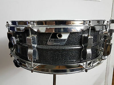 Vintage Ludwig Acrolite Black Galaxy Early 90' with Backpack!!!
