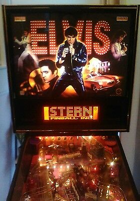 Home Use Only Elvis Presley Pinball Machine Genuine Australian Ordered