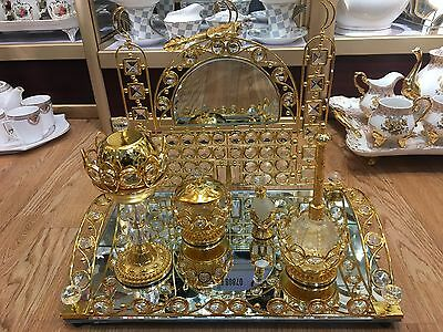 Arabian Turkish Wedding Bakhoor Burner Set/RoseWater/Sweet and Fragrance Holder