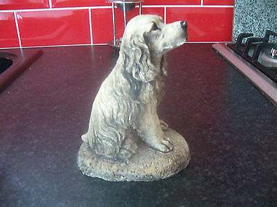"""Dogs and ornaments - latex mould mold of a Cocker Spaniel Dog 6"""" tall"""