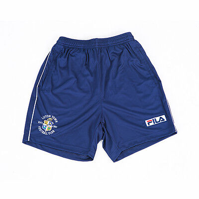 Luton Town 13/14 Official FILA Blue Training Shorts Size Small