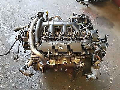 Volvo V50 S40 2004-2008 2.0D Engine D4204T 79K Miles Bare Engine With Injectors
