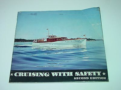 Vintage Texaco Boating Book Cruising with Safety 1940 motorboating