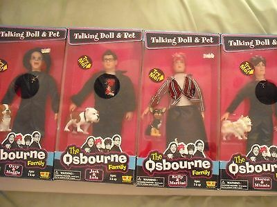 4 CHARACTER DOLLS - THE OSBORNE FAMILY = BOXED 12 inch COLLECTABLE