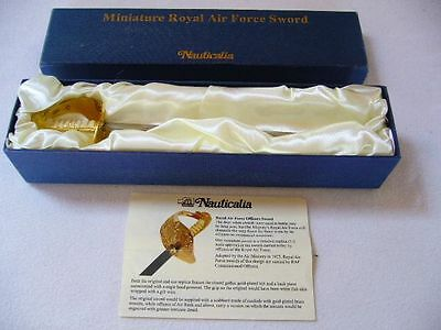 Miniture Royal Airforce Sword 300Mm Long, By Nauticalia