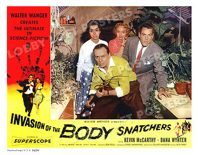 Invasion Of The Body Snatchers Lobby Card # 5 Poster 1956