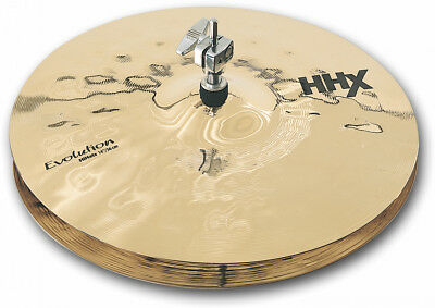 "Sabian 14"" HiHat HHX Evolution-Serie  Brilliant Finish  SONDERANGEBOT NEU"