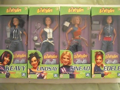 Vivid Imaginations - Set Of 4 Pop Group B'witched Dolls = Boxed
