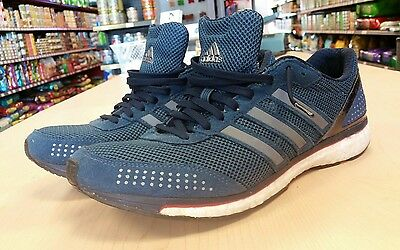 Adidas Adios Boost 2 men's running shoes size 10.5 athletic sneakers