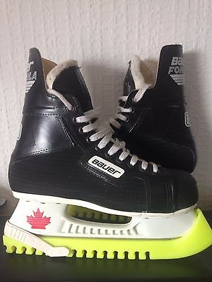 Bauer Formula 20 Ice Hockey Skates size 6 with bag and guards -only worn twice