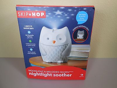 Skip Hop Baby Moonlight and Melodies Nightlight Soother - Owl